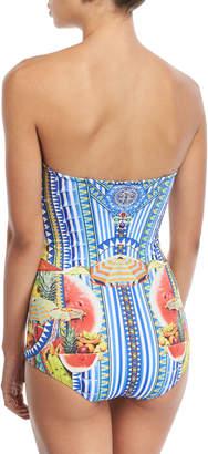 Camilla Bustier One-Piece Swimsuit