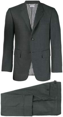 Thom Browne Wide Lapel Suit With Tie