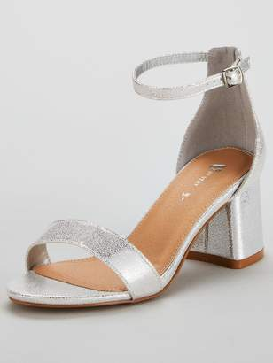 Dorothy Perkins Wide FitWIDE FIT SABRINA - Sandals - silver aWLI6tC