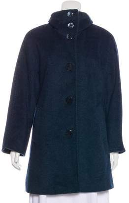 Ellen Tracy Wool-Blend Coat