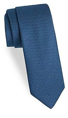 Charvet Men's Textured Wool& Silk Tie
