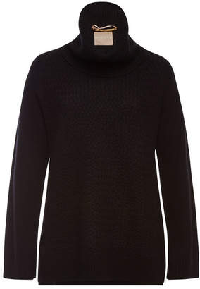 81 Hours Hattie Turtleneck Pullover with Superfine Wool and Cashmere