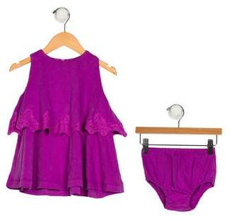 Ralph Lauren Girls' Sleeveless Two-Piece Set