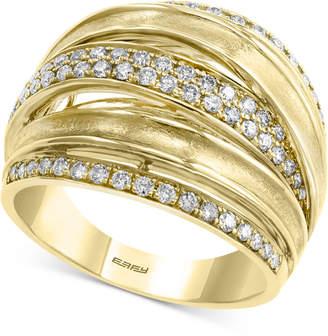 Effy Diamond Multi-Band Statement Ring (5/8 ct. t.w.) in 14k Gold