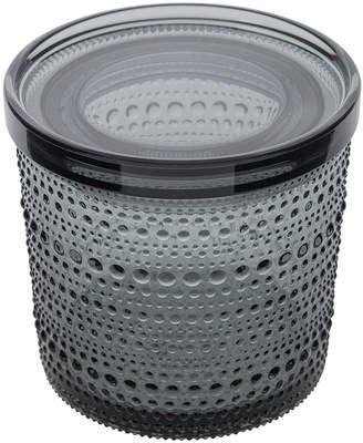 Iittala Kastehelmi Jar - Grey - Medium
