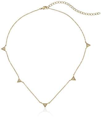 Jules Smith Designs 5 Pave Triangle Necklace