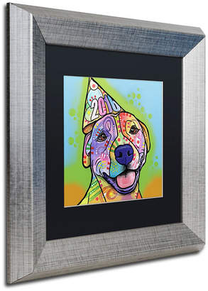 "Roxy Trademark Global Dean Russo 'Calendar Roxy' Matted Framed Art, 11"" x 11"""