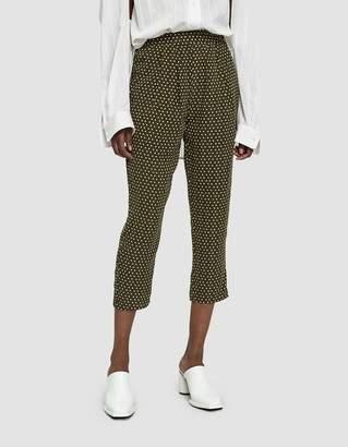 Stelen Beasley Polka Dot Trousers in Olive