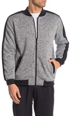 Burnside Heathered Zip Front Fleece Jacket