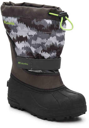 Columbia Powderbug Plus II Youth Snow Boot - Boy's