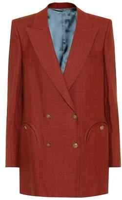 Blazé Milano Midday Sun Everyday linen blazer