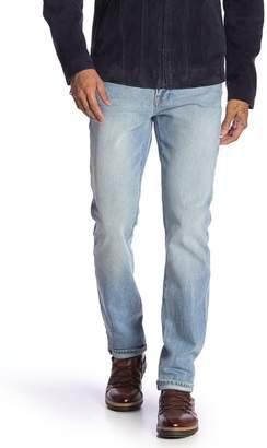 Frame L'Homme Subtly Distressed Slim Fit Jeans