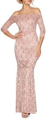Quiz Lace Maxi Gown