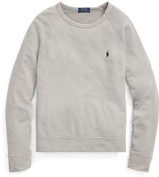 Polo Ralph Lauren Cotton Spa Terry Sweatshirt $79.50 thestylecure.com