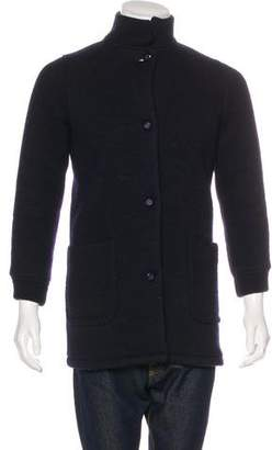 Façonnable Storm System Overcoat