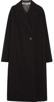 McQ Alexander McQueen - Oversized Wool-bouclé Coat - Black $1,050 thestylecure.com