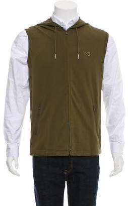 Y-3 x Adidas Piqué Zip-Front Vest