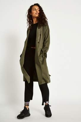 Jack Wills Carliss Draped Trench