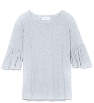 Vince Camuto Ruffle-sleeve T-shirt