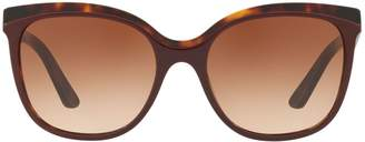 Burberry Heritage 55MM Wayfarer Sunglasses