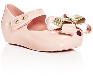 Mini Melissa Girls' Mini Ultragirl Sweet Mary Jane Flats - Walker, Toddler $63 thestylecure.com