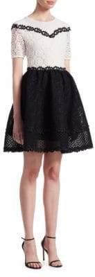 Maje Renald Lace Dress