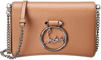 Christian Louboutin Mini Rubylou Leather Shoulder Bag
