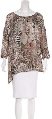 Rag & Bone Oversize Silk Top