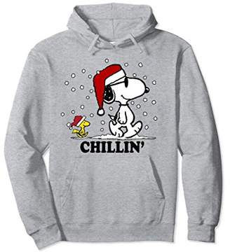 Peanuts Snoopy Woodstock Snow Chillin Hoodie
