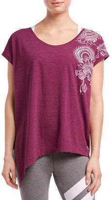 Jockey Short Sleeve Scoop Neck T-Shirt-Womens