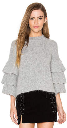 Endless Rose Exaggerated Sleeve Sweater