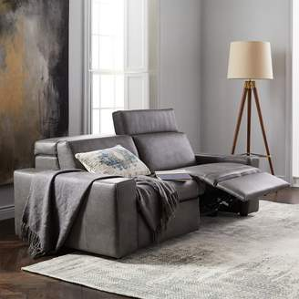 "west elm Enzo Leather Reclining Sofa (76"")"
