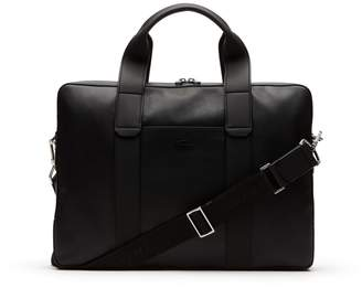 Lacoste Men's Full Ace Soft Leather Computer Bag