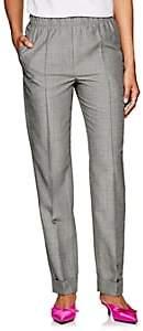 Helmut Lang Women's Virgin Wool-Mohair High-Rise Suit Pants-Gray