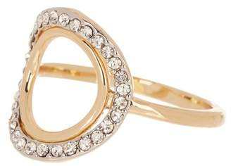 Covet Open O Crystal Pave Ring