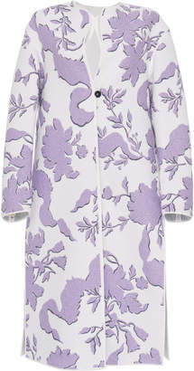 Jil Sander Folium Embroidered Coat