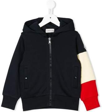 Moncler zipped hooded jacket