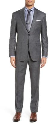 Men's Pal Zileri Classic Fit Plaid Wool Suit $1,695 thestylecure.com