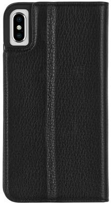 Case-Mate iPhone Xs Max Wallet Folio Black Case