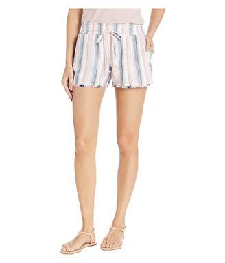 Bella Dahl Frayed Flowy Shorts