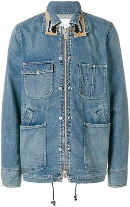 Sacai denim work jacket
