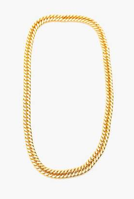 Nicole Romano Infinity Gold Chain Necklace