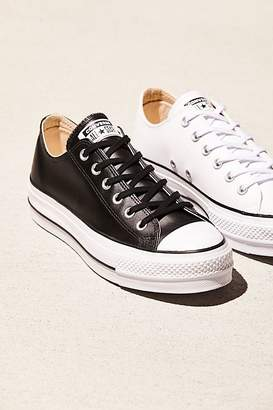 e50be0e2c6f2 at Free People · Converse Platform Low-Top Sneaker