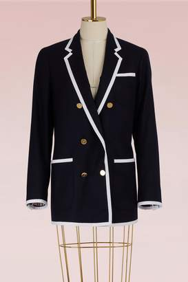 Thom Browne Melton Wool Coat