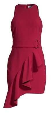LIKELY Taryn Asymmetric Ruffle Dress