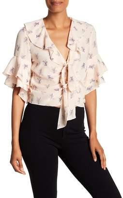 Cinq à Sept Ivy Silk Floral Print Blouse
