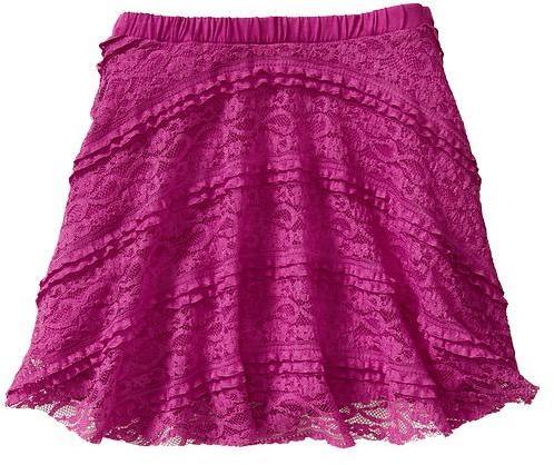 Gap Ruffle lace skirt