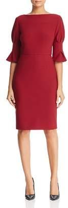 Badgley Mischka Bell Sleeve Dress