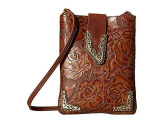 Leather Rock Casey Cell Pouch/Crossbody