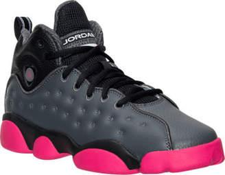 Nike Girls' Grade School Jordan Jumpman Team II (3.5y-9.5y) Basketball Shoes